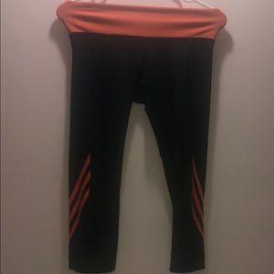 Women's three quarter length Adidas leggings